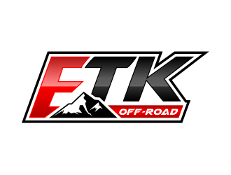 ETK Off-Road logo design