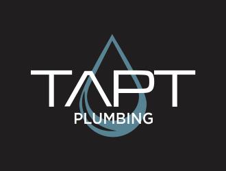 TAPT PLUMBING logo design