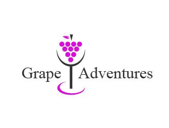Grape Adventures logo design by czars