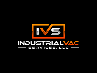 Industrial Vac Services, LLC logo design by ubai popi