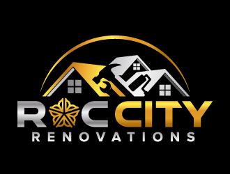 Roc City Renovations logo design