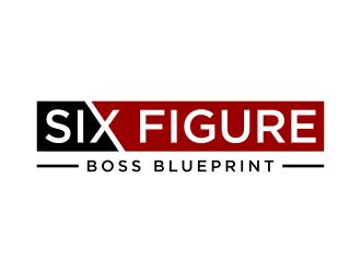 Six Figure Boss Blueprint logo design