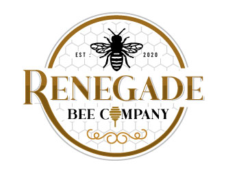 Renegade Bee Company logo design