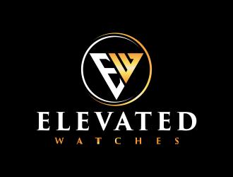 Elevated Watches logo design