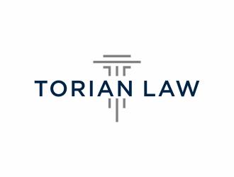 Torian Law logo design by ozenkgraphic