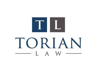 Torian Law logo design by maserik