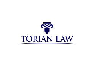 Torian Law logo design by M J