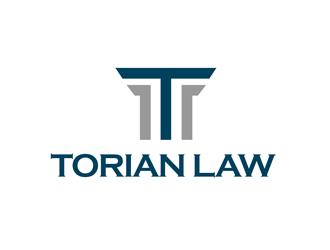 Torian Law logo design by kunejo