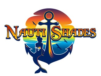Nauti Shades LLC logo design