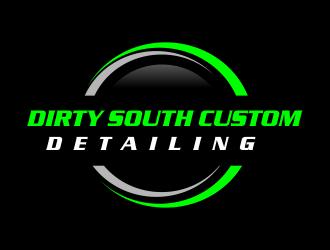 Dirty South Custom Detailing logo design by Greenlight