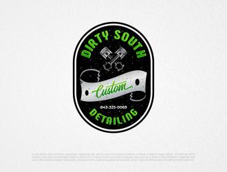 Dirty South Custom Detailing logo design by ngattboy