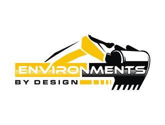 Environments by Design logo design