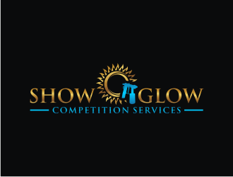 SHOW GLOW COMPETITION SERVICES  Logo Design