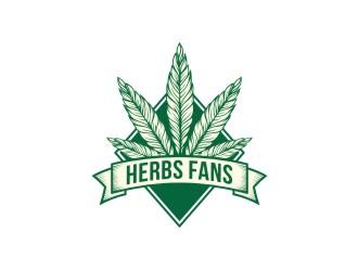 Herbs Fans logo design