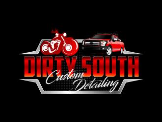 Dirty South Custom Detailing logo design by Dhieko
