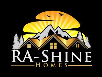 RA-Shine Homes logo design