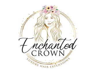 Enchanted Crown logo design