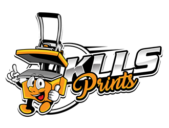 KLLS PRINTS logo design