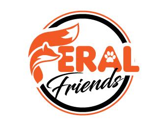 Feral Friends logo design by jaize