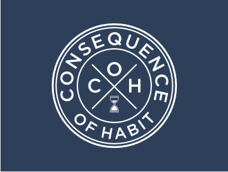 Consequence of Habit logo design