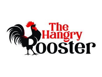 The Hangry Rooster logo design