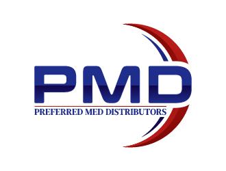 Preferred Med Distributors logo design