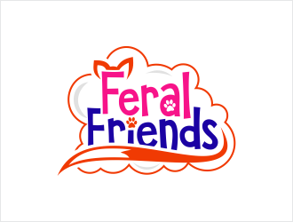 Feral Friends logo design by Shabbir