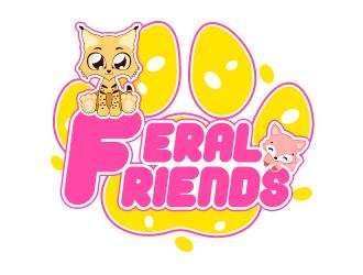 Feral Friends logo design by uttam