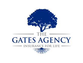 The Gates Agency logo design