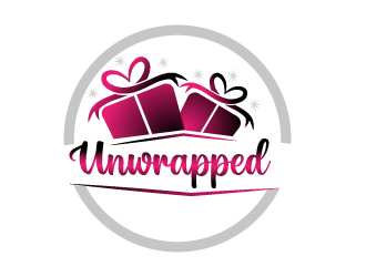 Unwrapped logo design by Suvendu