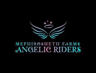 Mephibosheth Farms Angelic Riders logo design winner