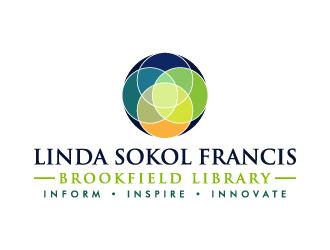 Linda Sokol Francis Brookfield Library logo design