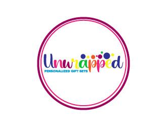 Unwrapped logo design by Erasedink