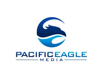 Pacific Eagle Media logo design