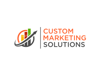 Custom Marketing Solutions logo design