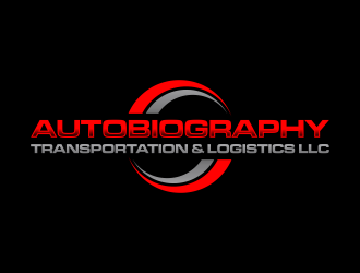 Autobiography transportation & logistics LLC  logo design