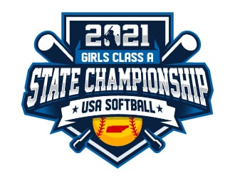 USA Softball of Tennessee logo design