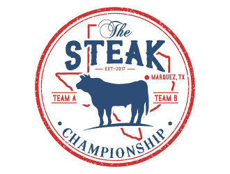 The Steak Championship  logo design winner