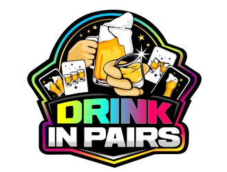 DRINK IN PAIRS logo design winner