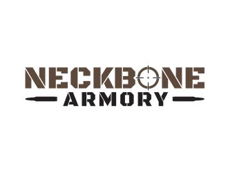 Neckbone Armory logo design