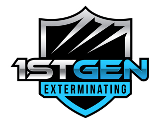 1st Gen Exterminating  logo design winner