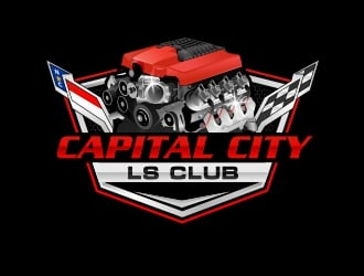Capital City LS Club logo design winner