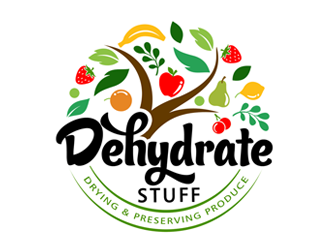 Dehydrate Stuff logo design winner