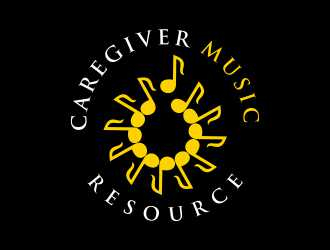 Caregiver Music Resource logo design