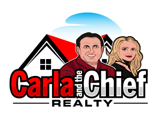 Carla and the Chief Realty logo design winner
