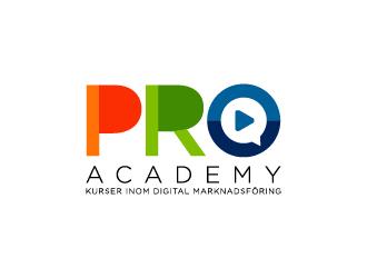 PRO Academy logo design