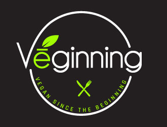 Vēginning  logo design