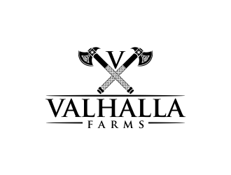 Valhalla Farms logo design