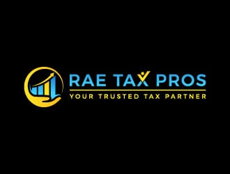 Rae Tax Pros logo design winner