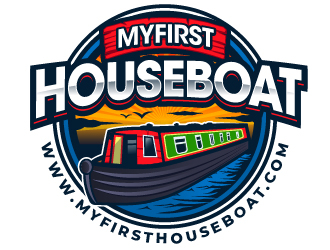 myfirsthouseboat.com logo design winner
